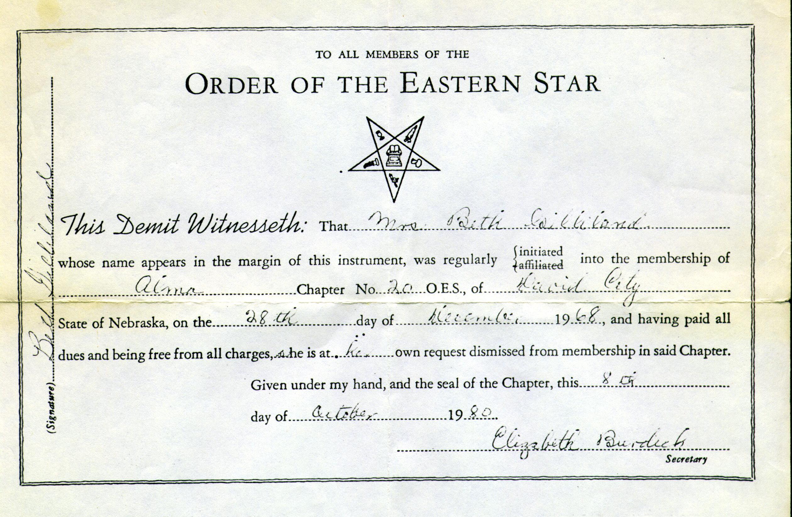 Descendants Of Hugh Gilliland And Elizabeth Morgan